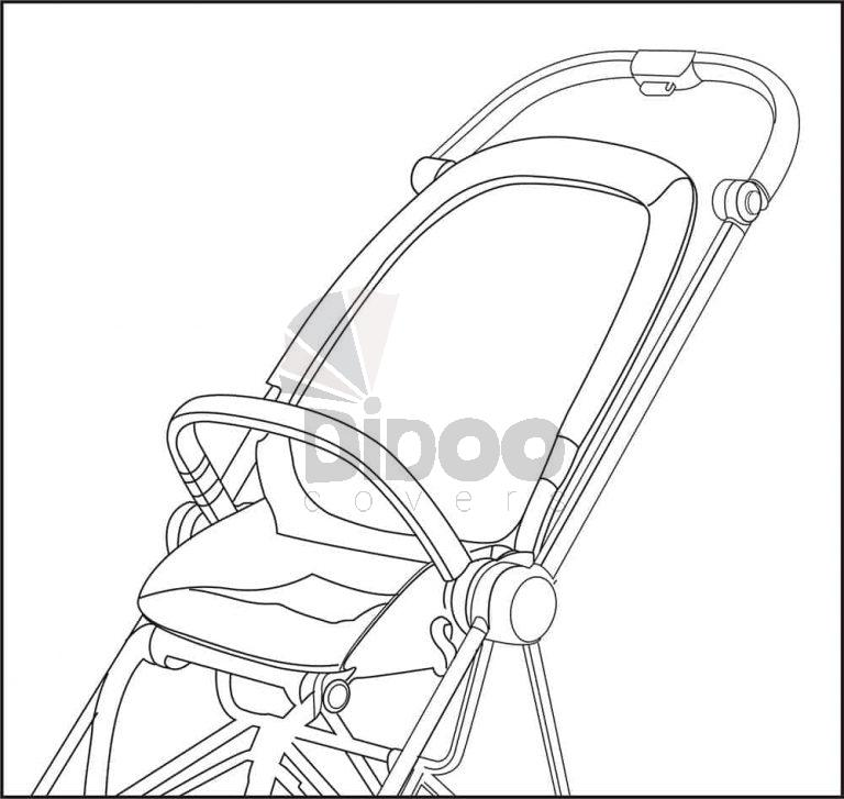 how to install cybex mios cover